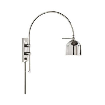 Chrome Arc Sconce