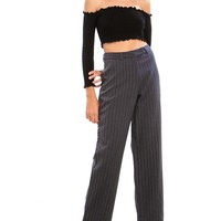 Vintage 90's Pinstripe Trousers - S