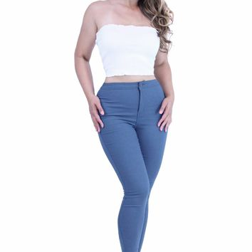 Comfy Super Stretch High Waist Skinny Jeggings Pants