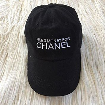 Need Money for Chanel Embroidered Hat