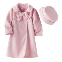 Sophie Rose Bow Fleece Jacket - Baby Girl, Size: