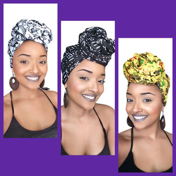 African royalty Headwrap collection (Daily Deal)