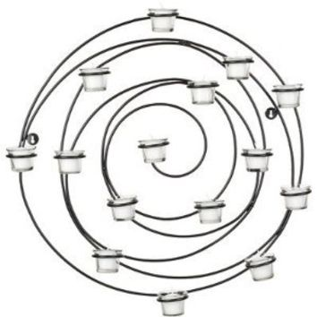 Safavieh Wall Art Collection Flourished Spiral Candle Holder Wall Sconce