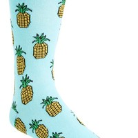 Men's Topman Pineapple Pattern Socks