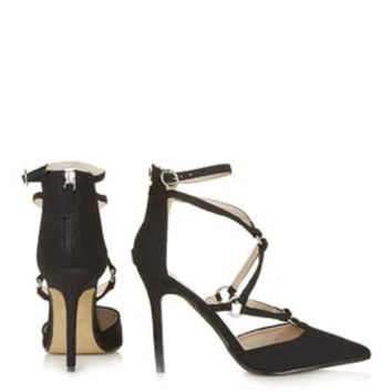 MARA Ring Strap Court Shoes