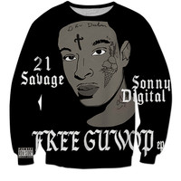 """21 Savage"" Hype Clothing Sweater"
