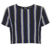 PETITE Exclusive Striped Tee - Blue