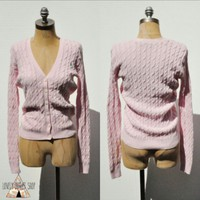 Ralph Lauren Pink Cardigan NEW