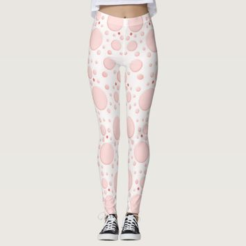 DOTTY ABOUT PINK LEGGINGS