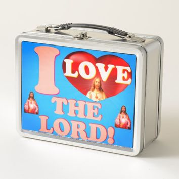 I Love The Lord! Metal Lunch Box