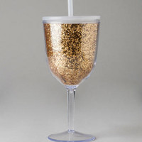 TRAVEL WINE CUP IN GOLD