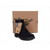 2017 model1460 20 dr martens classic 8 holes high top men women boots color all black
