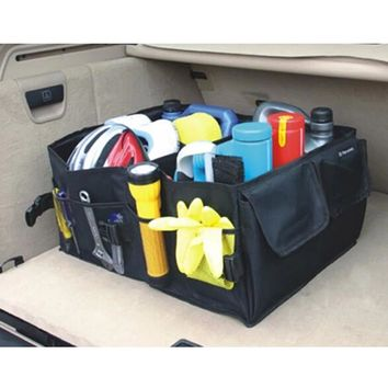Folding Car Storage Box Trunk Bag Vehicle Toolbox Multi-use Tools Organizer the Bag in the Trunk of Cars for Car Styling