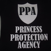 Princess Protection Agency PPA - Disney Family Custom T-Shirt Personalized Applique Tee Shirt Top