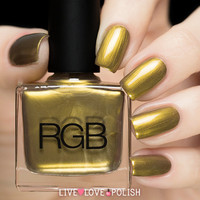 RGB Green Gold Nail Polish (Reece Hudson x RGB Cosmetics Collection)