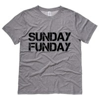 Sunday Funday Mens Tee Shirt