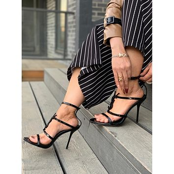 shosouvenir Saint Laurent YSL Cassandra Sandals