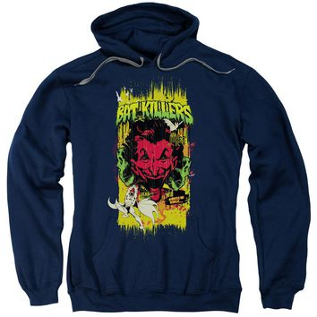 Batman - Bat Killers 2 Adult Pull Over Hoodie