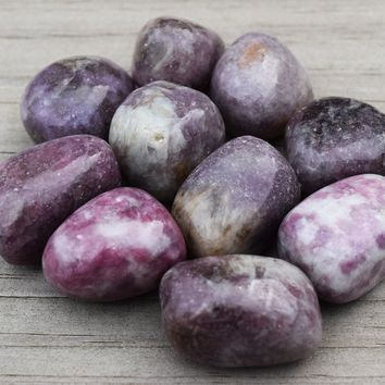 Lepidolite Peaceful Bliss, Spiritual Transformation, Positive Synchronicity Stone
