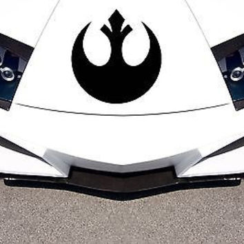 Car Hood Vinyl Decal Graphics Stickers Symbol Star Wars Character AB1524