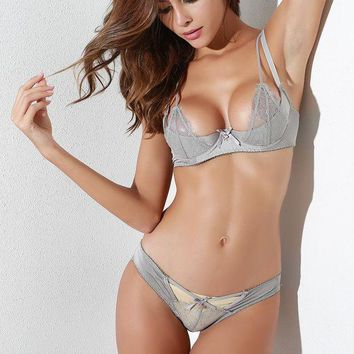 ac PEAPB5Q Hot Deal Cute On Sale Sexy Butterfly With Steel Wire Exotic Lingerie [13244530691]