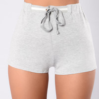 Boot That Bass Shorts - Heather Grey