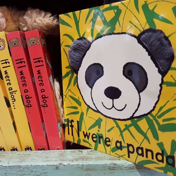 If I were a ..... Books by JellyCat