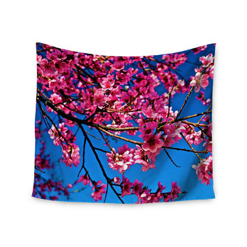 "Maynard Logan ""Flowers"" Wall Tapestry"