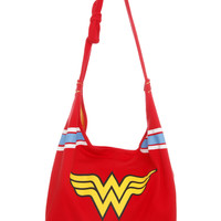 DC Comics Wonder Woman Hobo Bag | Hot Topic