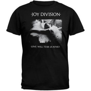 PEAPGQ9 Joy Division - Love Will Tear Us Apart T-Shirt