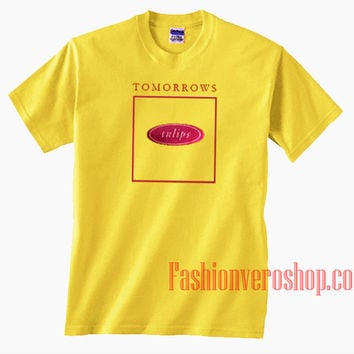 Tomorrows Tulips Unisex adult T shirt