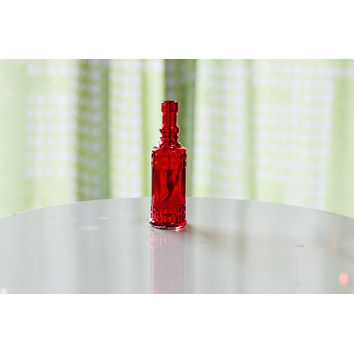 Fiesta Coquito Bottle-Red