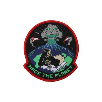 HACK THE PLANET PATCH - Teenage