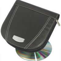 Visol Roadtrip Black Synthetic Leather CD / DVD Case