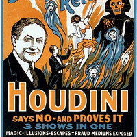 Do Spirits Return Houdini Magic Poster