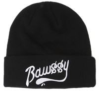 Young & Reckless Bawssy Beanie - Womens Hat - Black - One