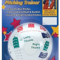 Markwort Christie Ambrose's Softball Pitching Trainer, 11-Inch