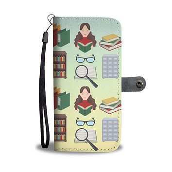 Librarian Wallet Phone Case