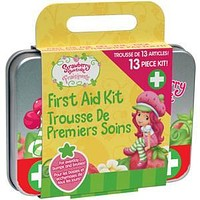 Strawberry Shortcake™ Kids First Aid Kit, 13-Piece Tin