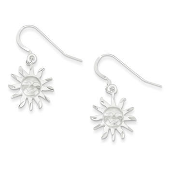 Sterling Silver Celestrial Dangle Earrings