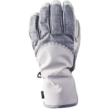 O'Neill AC Pathway Crystal Winter Snow Snowboard Ski Gloves Waterproof Large