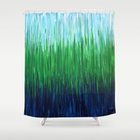 :: Sea Grass :: Shower Curtain by :: GaleStorm Artworks ::