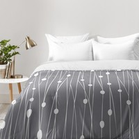 Heather Dutton Gray Entangled Comforter