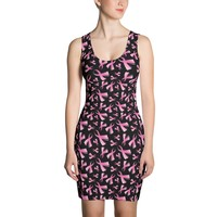 Breast Cancer Awareness Pink Ribbon Dress