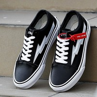 Trendsetter Revenge x Storm Old Skool x VANS Canvas Flats Sneakers Sport Shoes
