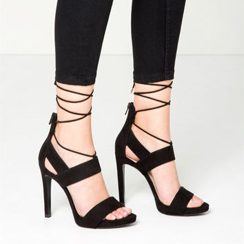 STILETTO HEEL SANDALS DETAILS