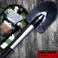 Ultimate Military-Grade Shovel / Axe Combo for Camping & Survival