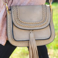 From The Badlands Bag-Taupe