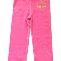 Juicy Couture Highlighter Velour Track Pants -JCTXG0543 -  FINAL SALE