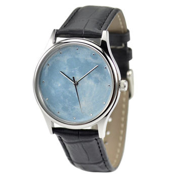 Moon Watch (Light Blue) - Free shipping worldwide